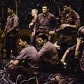 Members of 3 Platoon, Victor 5 Company in Vietnam, circa 1970-1971
