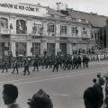 NZ contingent marching in Saigon, 1971