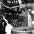 Scotty Wingfield working on Bristol 170 Freighter, 1967