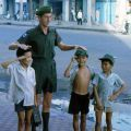 1RNZIR Band Tour Vietnam 1969 - Ernie Bate and Vietnamese children