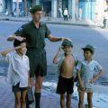 1RNZIR Band Tour Vietnam 1969 - Ernie Bate and Vietnamese children