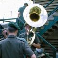 1RNZIR Band Tour Vietnam 1969 - Playing a Sousaphone