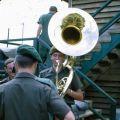 1RNZIR Band Tour Vietnam 1969 - Playing a Sousaphone
