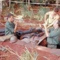 1RNZIR Band Tour Vietnam 1969 - Mortar dugout