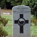 Robert White's grave, 2009