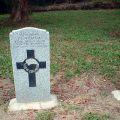 Jack Williams grave, 2009
