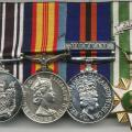 NZ Vietnam War medal group